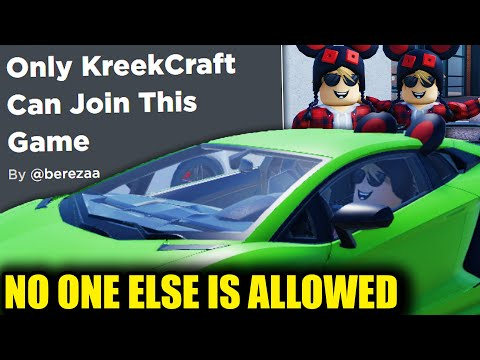 THESE DEVS SPENT $10,000 MAKING ME A ROBLOX GAME..