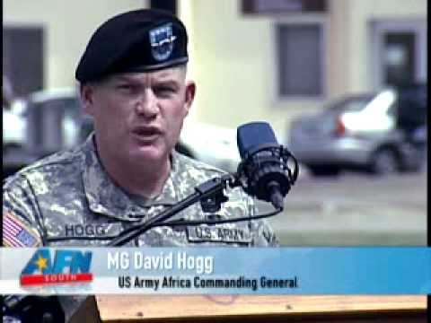 Change of Command Ceremony - United States Army Africa (SETAF) - 10 June 2010