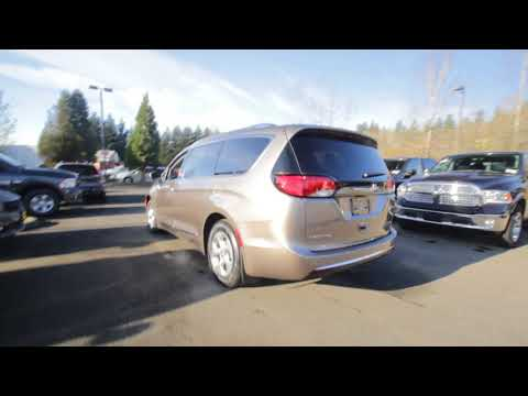 2018 Chrysler Pacifica Hybrid Touring L   Molten Silver   JR136416   Redmond   Seattle  