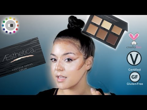 BEGINNER AND PRO FRIENDLY! Cream contour -Aesthetica Review