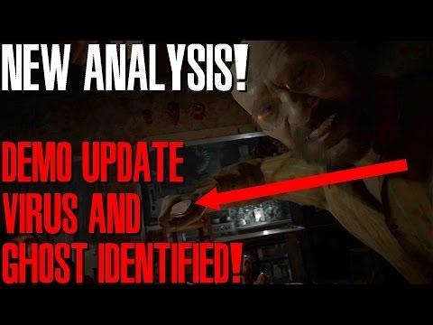 NEW ANALYSIS! RESIDENT EVIL 7 BIOHAZARD : DEMO UPDATE + VIRUS AND GHOST IDENTIFIED?!