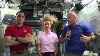Astronaut Luca Parmitano Recounts His