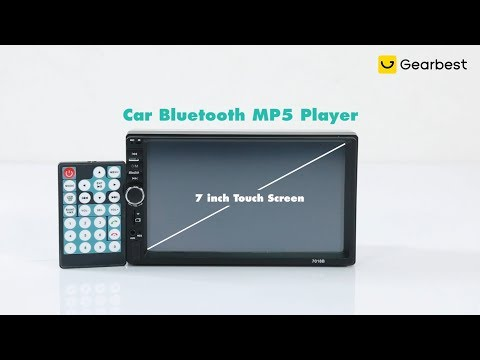 7018B HD Large Screen Digital Navigator Car Bluetooth MP5 Player - Gearbest.com