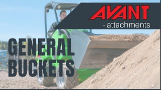 General Buckets 2, Avant 300-700 Series attachment Thumbnail
