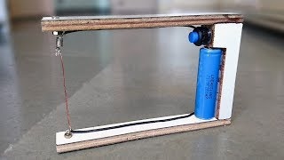 How to Make an Electric Foam Cutter at Home