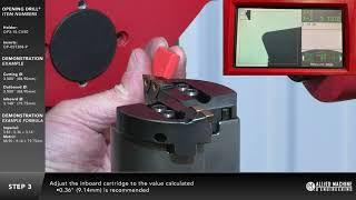 How to setup an Opening Drill® with a presetter