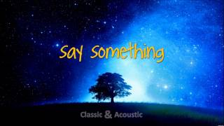 Say Something - A Great Big World (Cover - Guitar Version - J∆VI Classic&Acoustic)