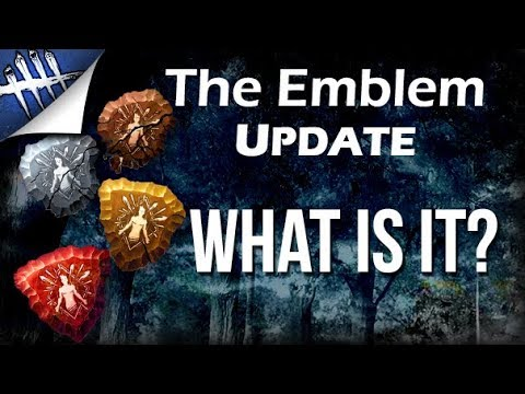 The Emblem Update. What is it? - Dead by Daylight
