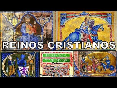 Los Reinos Cristianos de Asturias, León, Navarra, Castilla, Aragón y Condados Catalanes.