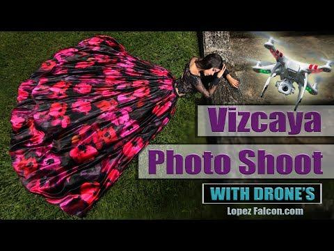 VIZCAYA QUINCES PHOTOGRAPHY QUINCEANERA IN MIAMI CRUZ BUILDING SECRET GARDENS 15 ANOS VIDEO SHOW