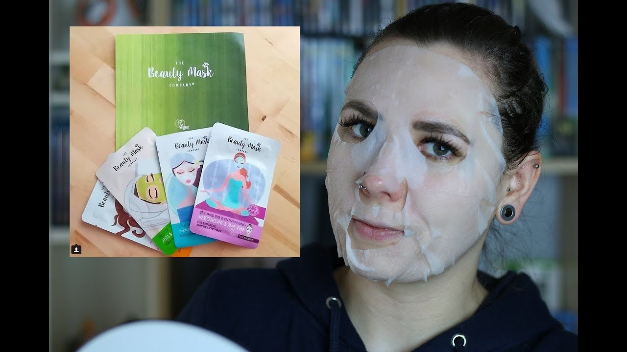 THE BEAUTY MASK COMPANY Tuchmasken [Review]