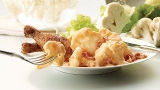 2012 Milk Calendar April Recipe : Sun-dried Tomato Cauliflower Cheese