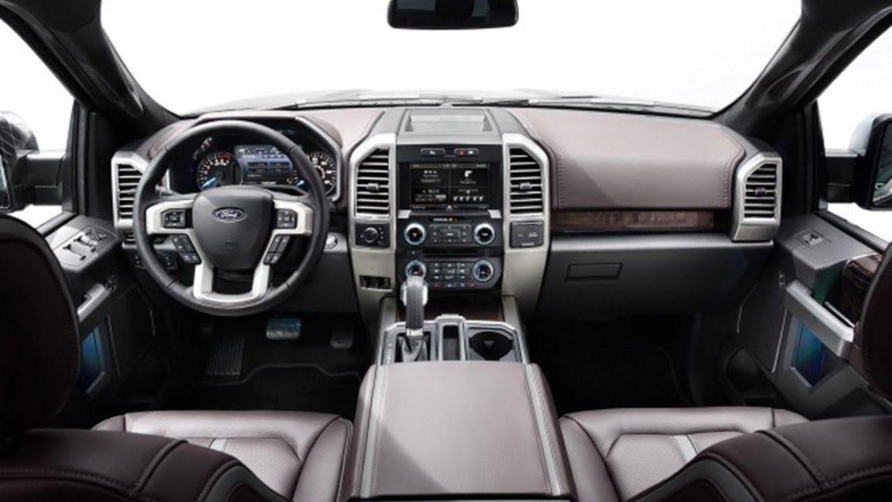 2019 ford ranger interior