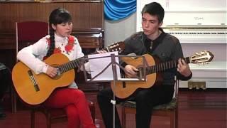 Изгиб гитары жёлтой- гитара