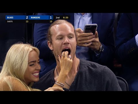 people are freaking out about noah syndergaard s date to the knicks game photos cbs detroit knicks game photos cbs detroit