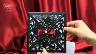 видео Черно Белые Пригласительные на Свадьбу
