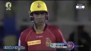 Pakistani  Player Shadab Khan Match Winning Innings In CPL 2017