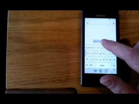 Samsung Omnia 7 Keyboard problem