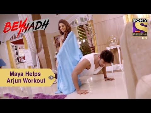 Your Favorite Character | Maya Helps Arjun Workout | Beyhadh