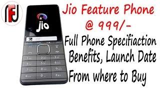 Jio Mobile 999/-,  4G VoLTE [Hindi], Jio Smart Phone, Smart Phone under Rs. 999/-