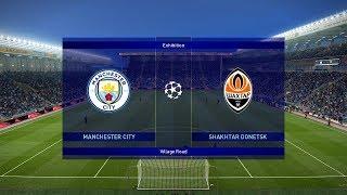Manchester City vs Shakhtar Donetsk | UCL 7 November 2018 Gameplay