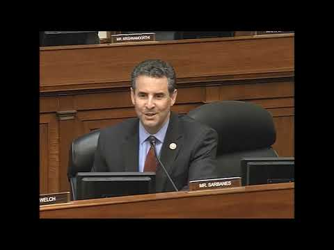 Rep.Sarbanes Wants to Restore Transparency with HR1