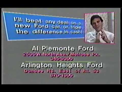 al piemonte ford commercial 3 1985 youtube. Black Bedroom Furniture Sets. Home Design Ideas