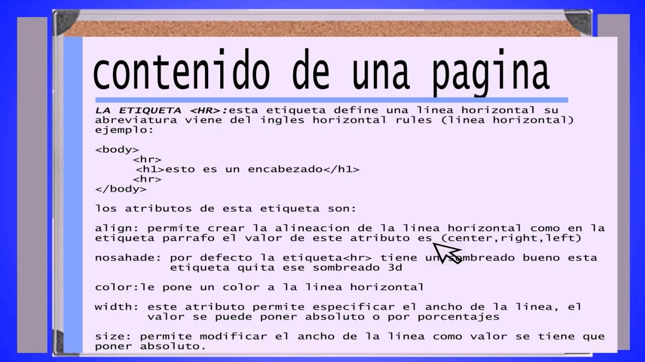 2 como crear tu pagina web manual html estructura de Crear website
