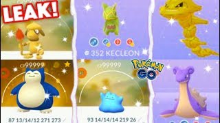 (MASSIVE LEAK) SHOWING EVERY POKEMON'S SHINY FORM IN POKÉMON GO! + My Laptop Broke!