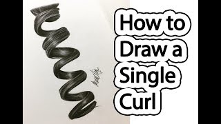 How to draw a ringlet