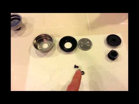 how to clean saeco pressurized filter holder