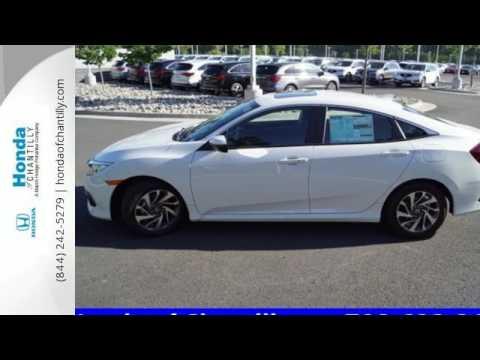 New 2017 Honda Civic Fairfax Dulles Chantilly, DC #HCHH544519 - SOLD