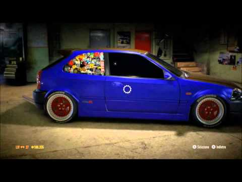 need for speed honda civic rat style youtube. Black Bedroom Furniture Sets. Home Design Ideas