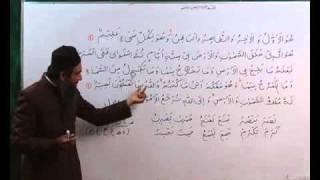 Arabi Grammmar Lecture _40 Part _03 عربی  گرامر کلاسس