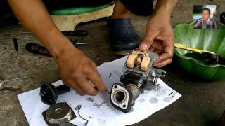 Cara Servis Karbulator Motor Mio Sporty - Praktek Servis Karburator Motor Yang Benar