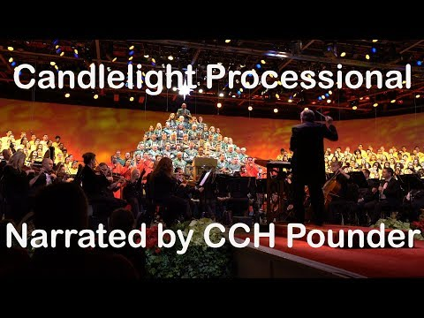 Candlelight Processional narrated by CCH Pounder at Epcot (4K)