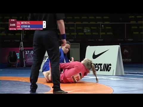 GOLD Women's GP GI - 71 kg: K. MITKO (POL) v. M. LOSKA (POL)