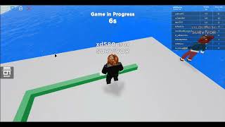 hello pus here I'm playing roblox xd