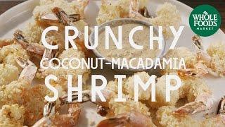 Paleo Crunchy Coconut-Macadamia Shrimp | Special Diet Recipes