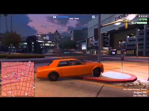 GTA 5 online Having fun hacking