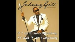 Johnny Gill   It Would Be You   LYRICS   YouTube