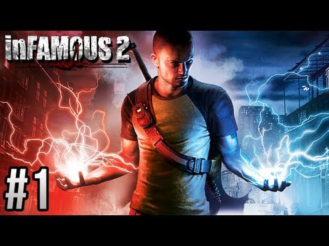 inFAMOUS 2: Part 1 Evil Karma Playthrough