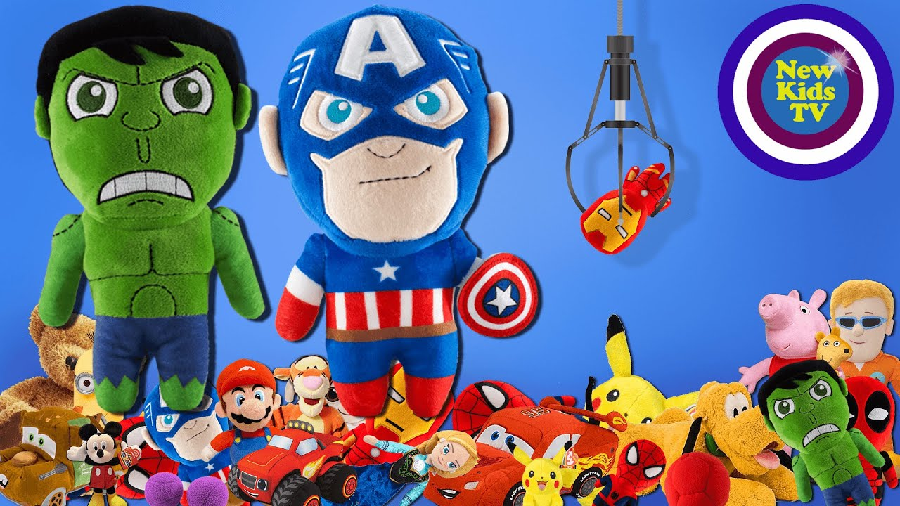 Lucky Claw Surprise Game - AVENGERS  Ironman Captan America Hulk - Kids Video [#3] - New Kids TV