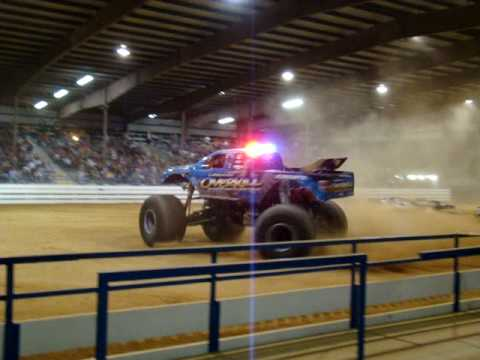 Thunderbowl Speedway of Ocala Florida at the Monster Jam-Up close and personal