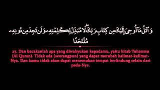 Surat Kahfi Oleh Mishari Rashid Alafasy Terjemah Teks Bahasa Indonesia