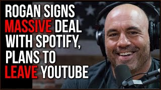 The Full Joe Rogan Experience Is LEAVING YouTube And iTunes For Spotify