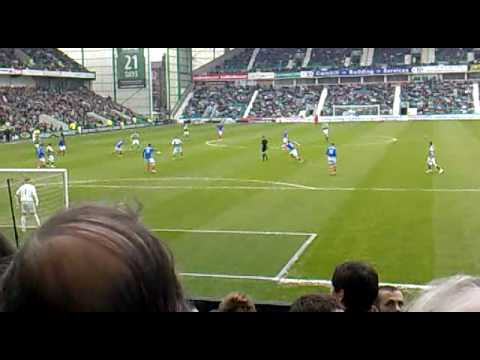 Rangers Fans at Easter Road (Kyle Lafferty Song)