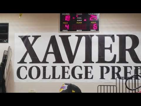 2-8-18 Xavier vs Shadow Hills Varsity