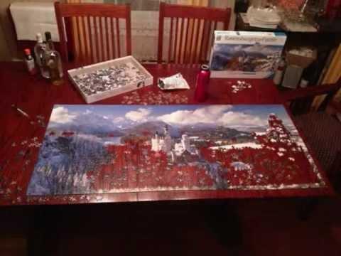 My New Neuschwanstein Castle 2000 PiecePanorama XXL Puzzle-Where To Buy  Ravensburger Puzzles?
