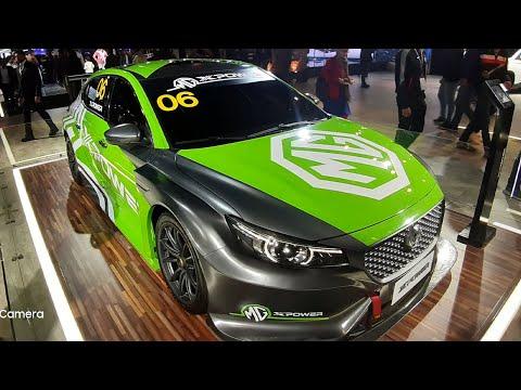 MG XPower SV Super Car Launch @ Auto Expo   Walkaround   Honda Civic VS Elantra Rival   Exterior